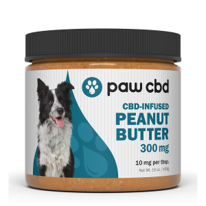 Pet CBD Peanut Butter for Dogs - 300 mg - 16 oz