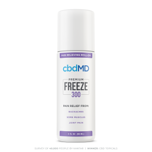 Freeze CBD Topical Roll On 300mg 90ml Cold Therapy Pain Relief