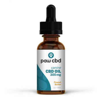 CBD Oil for Dogs 30mL Peanut Butter 300mg