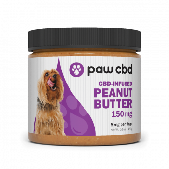Pet CBD Peanut Butter for Dogs - 150 mg - 16 oz