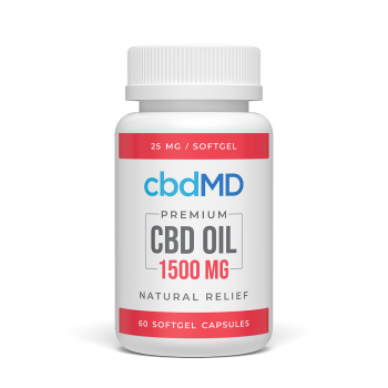 450mg CBD Oil Capsule