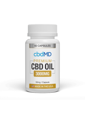 3000mg CBD Oil capsule