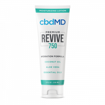 CBD Moisturizing Lotion - 4 oz Squeeze 750mg | cbdMD