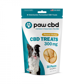 Paw CBD Dog Treats 30 Count Peanut Butter 300mg