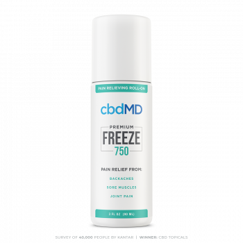 CBD Topical Freeze 750mg 90ml Cold Therapy Pain Relief Roll On