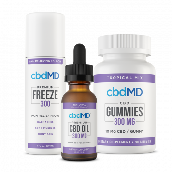 CBD Bundle  Rejuvenation  CBD Topical Freeze 300mg and CBD Oil Tinctures 300mg 30ml and CBD Gummies 300mg