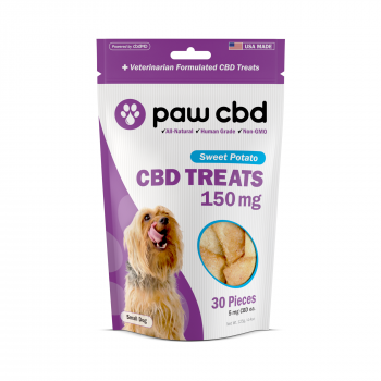 Paw CBD Dog Treats 30 Count Sweet Potato 150mg