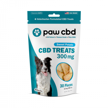 Paw CBD Dog Treats 30 Count Sweet Potato 300mg