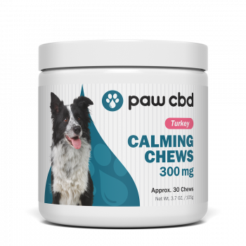 Pet CBD Calming Soft Chews for Dogs - Turkey - 300 mg - 30 Count