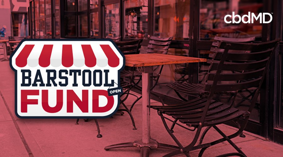 cbdMD Joins Forces with The Barstool Fund to Aid Small Businesses