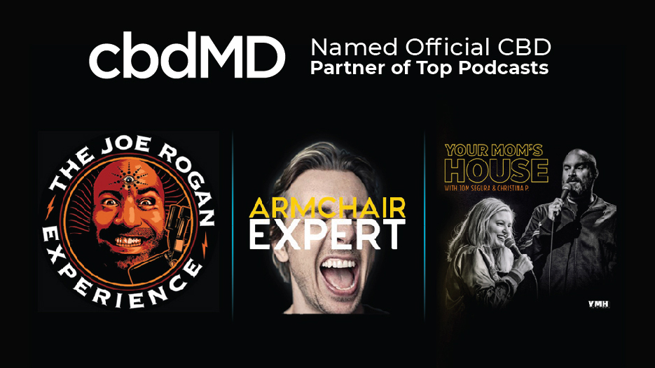 Top Podcasts Partner with cbdMD