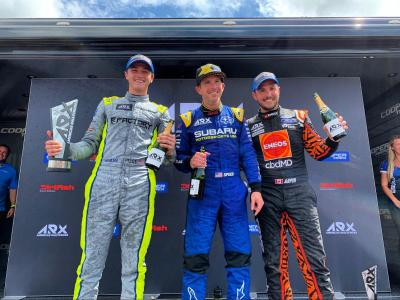 Podium Finish for cbdMD in ARX Series Opener