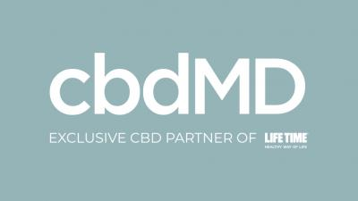 Life Time and cbdMD Join Forces