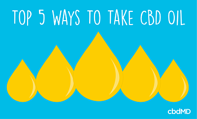 5 of the Best Ways to Take CBD Oil