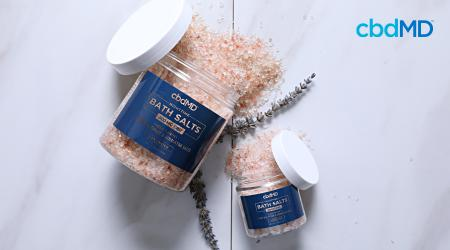 CBD Bath Salts: A New Way to Relax and Unwind