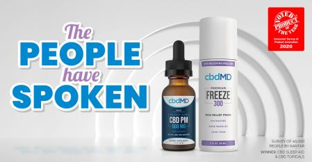 cbdMD Debuts Product of the Year Bundle