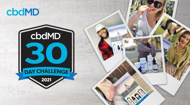 Take Part in the cbdMD 30-Day Challenge