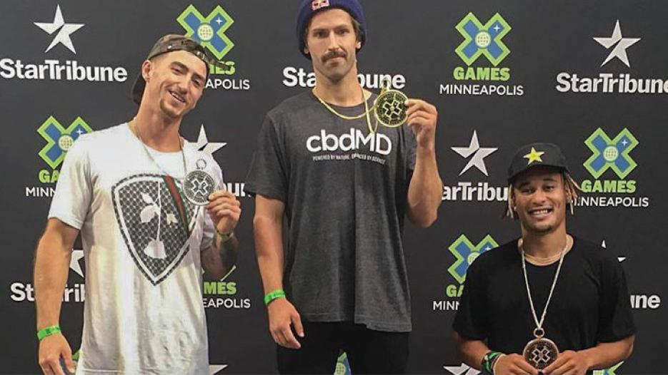 Team cbdMD Dazzles at 2019 Summer X Games