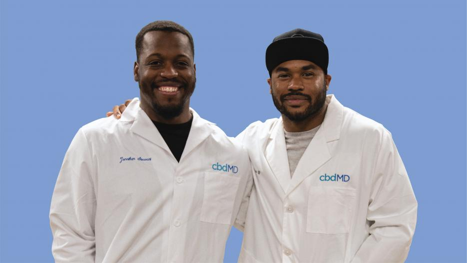 cbdMD Recruits Retired NFL Greats Steve Smith Sr. and Jonathan Stewart