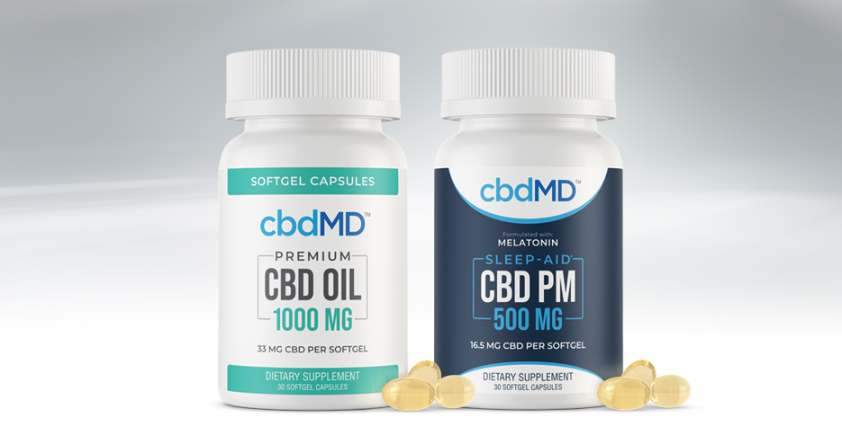 cbdMD Softgel Capsules Have Arrived!