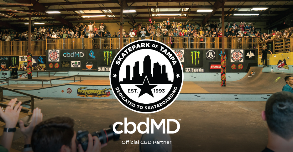 Join cbdMD at SPoT for the 26th Annual Tampa Pro Event