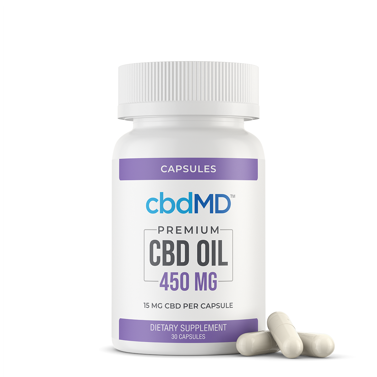 cbd softgel 450 mg 30 count
