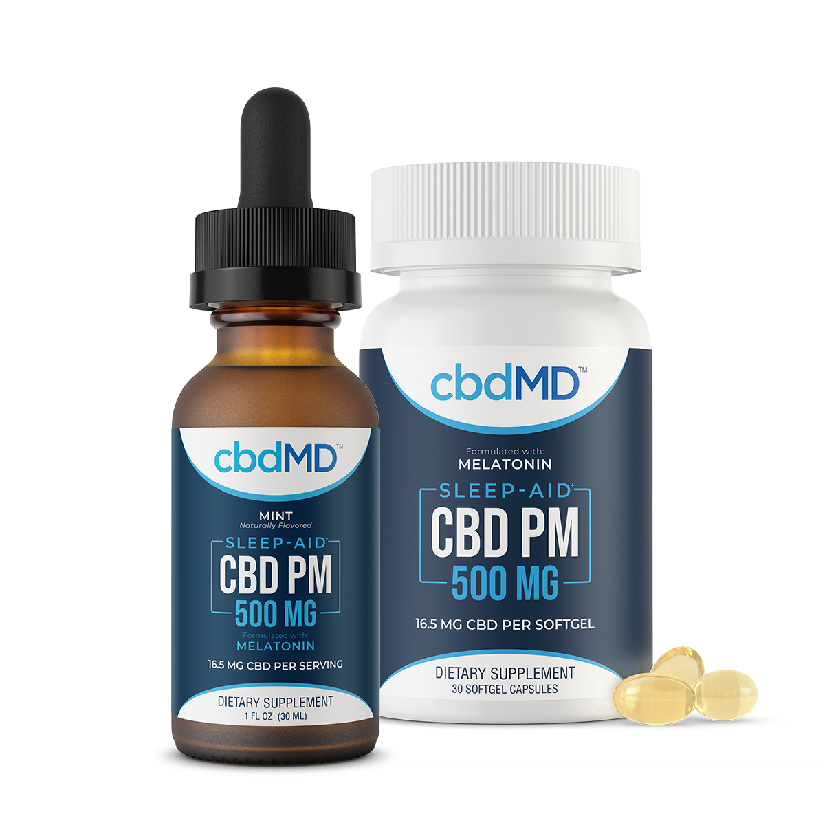 CBD Tincture Melatonin Sleep-Aid 500mg 30ml
