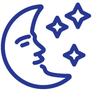 Cbd moon Icon