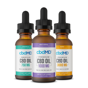 Premium CBD Oil Tinctures CBD Oil 750mg Orange CBD Oil 1000mg Natural CBD Oil 3000mg Mint