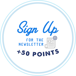 Sign up for the news letter for 50 points